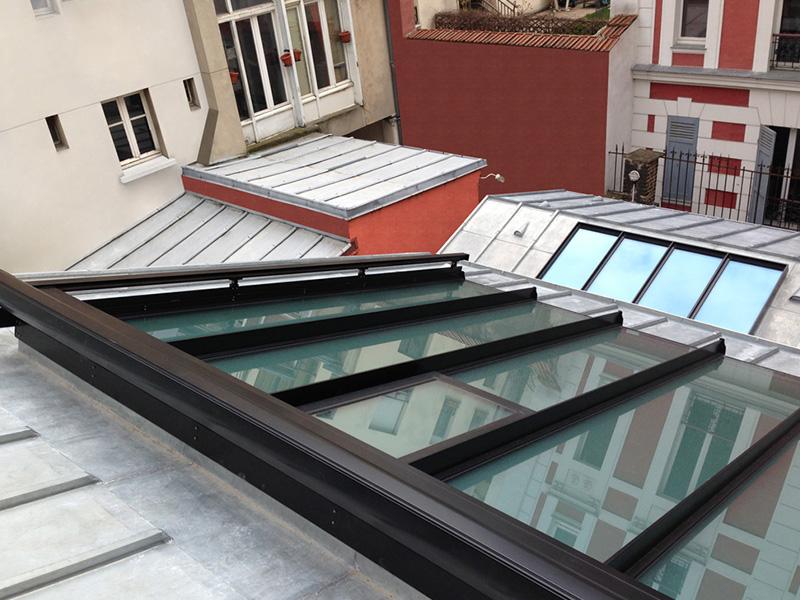 Batistore store toiture de v randa - Store exterieur fenetre de toit ...